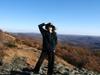 Alina_on_the_buffalo_mountain_in_the_fal